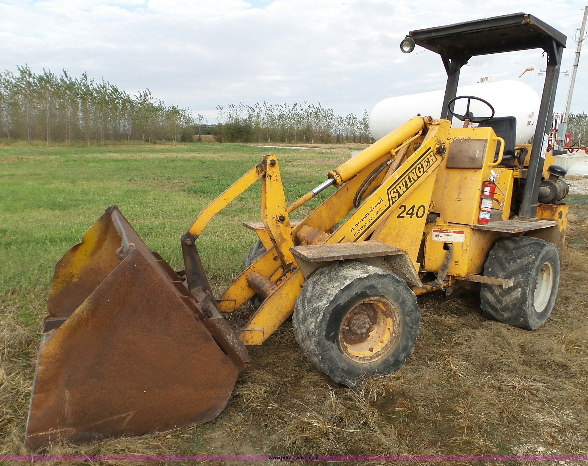 Used swinger loader