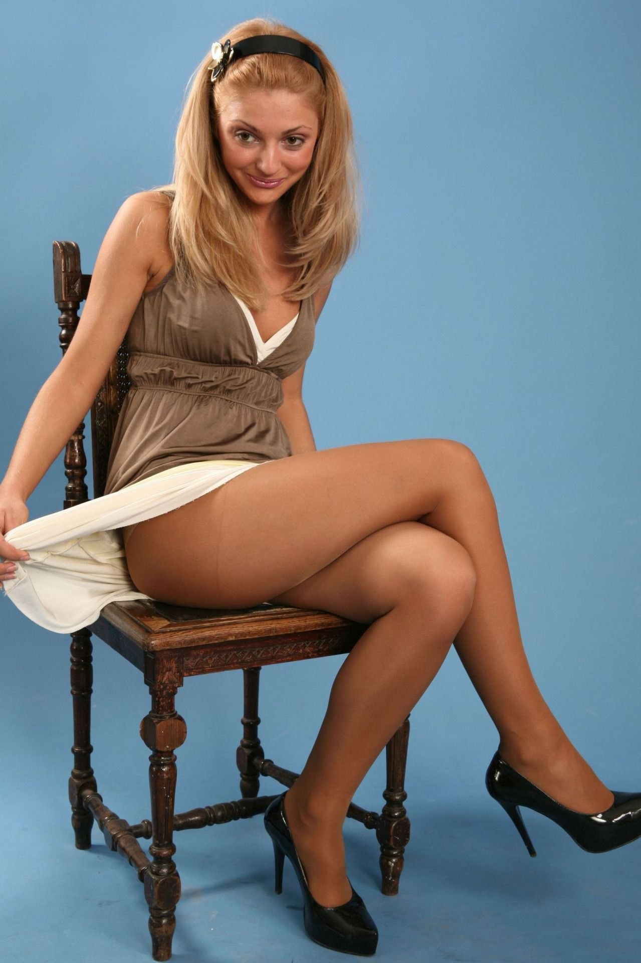 Sugar P. reccomend Women who love pantyhose