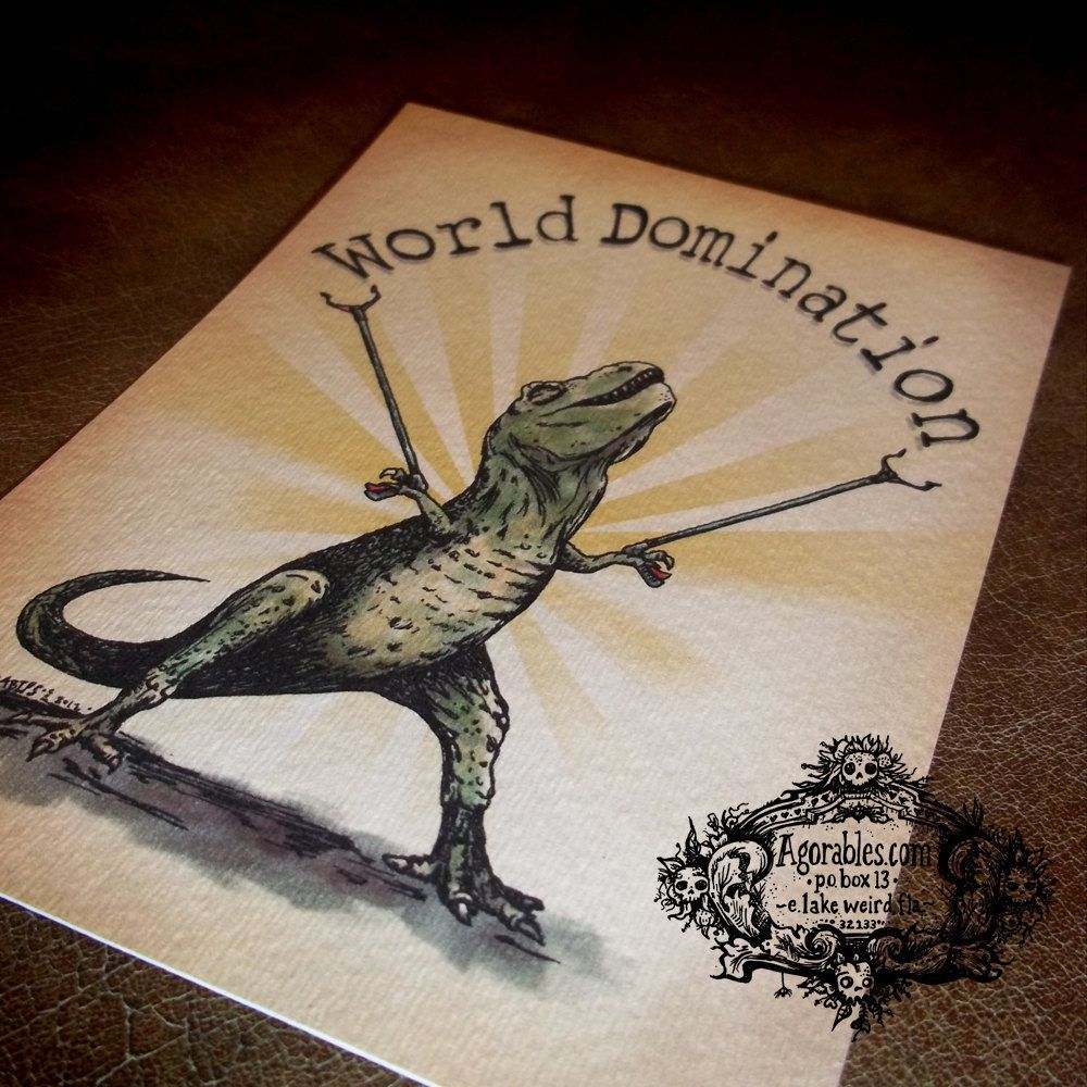 Princess reccomend World domination ink