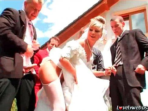 best of Gangbang bride porn You