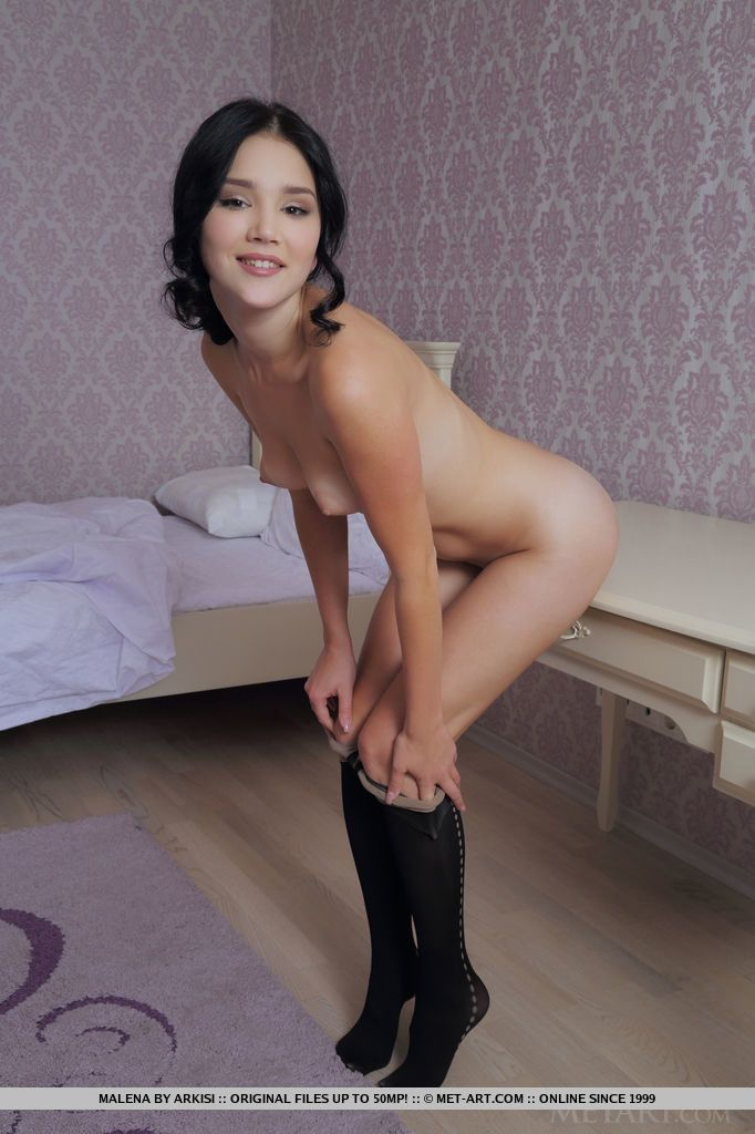 young Pantyhose models